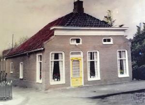 De voormalige woning van de familie Broekema uit Muntendam,