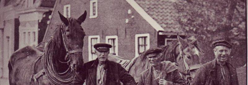 Muntendammer Scheepsjagers, vlnr Kram, Wolthof, Scholtens