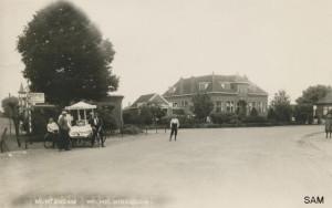 Muntendam, Middenweg, Wilhelminaboom ansichtkaart