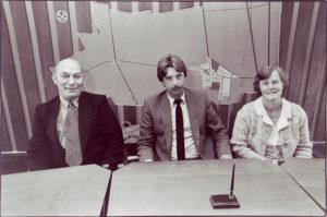 college B&W 1982 gemeente Muntendam